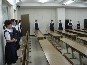 中学放送部発声練習