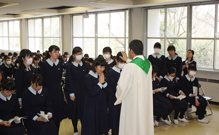 1月:高Ⅲ静修(カトリック学習)